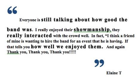 The Company Band Miami Reviews