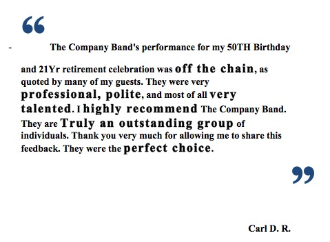 The Company Band Wilmington Reviews